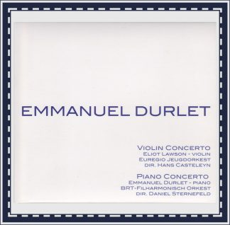 Production Emmanuel Durlet-Fonds (EDF002): Concerto for Violin and Orchestra002)